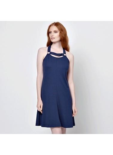 Askılı Kloş Elbise-Lacoste